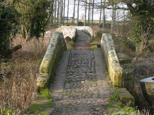 Ancient bridges at Hockenhull Platts
