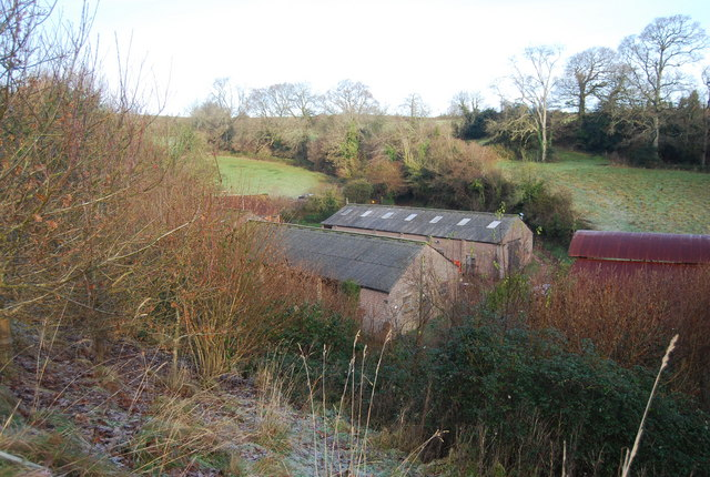 Farm buildings, Roadwater Farm