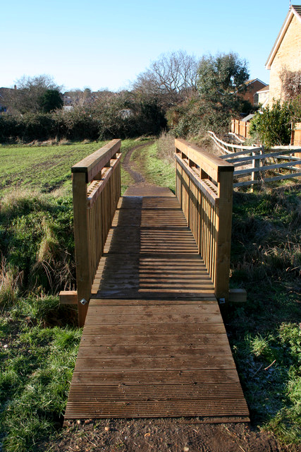 Footbridge on the edge of Ampthill