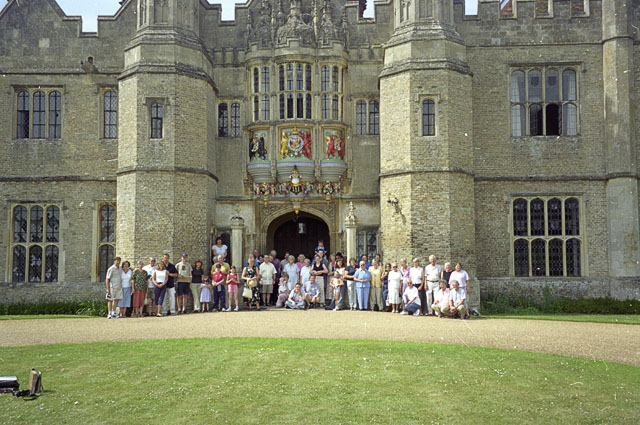 Hengrave Hall, Suffolk, main frontage