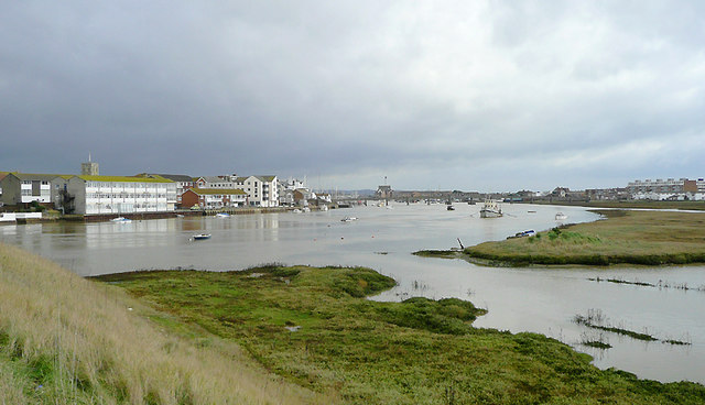 River Adur at Shoreham-by-Sea, West Sussex