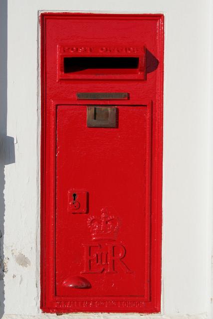 Elizabeth II Postbox, Maulden