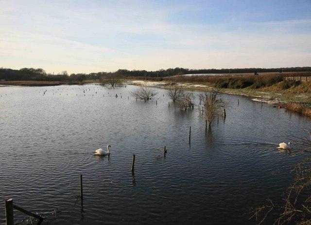 River Medan lake
