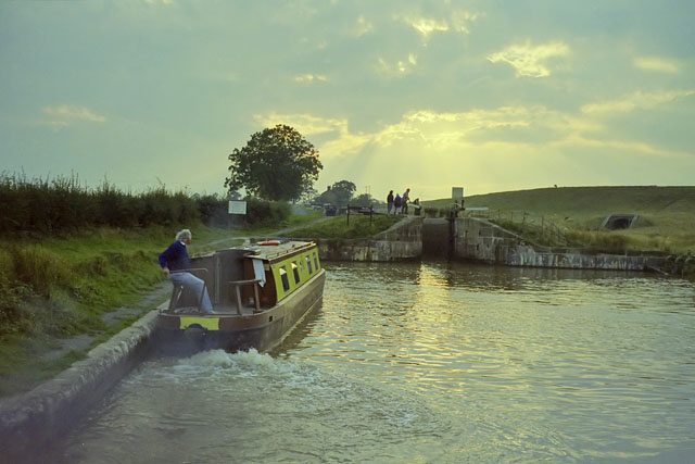 "Entrance Lock, ""Llangollen Canal"""