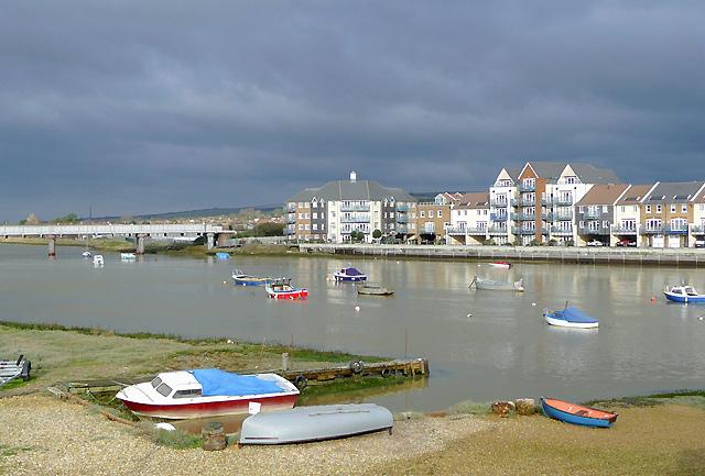 River Adur at Shoreham, West Sussex