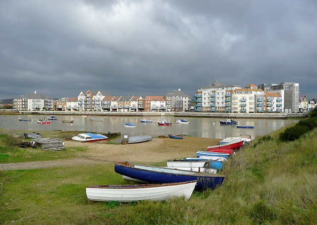 By the River Adur, Shoreham-by-Sea, West Sussex