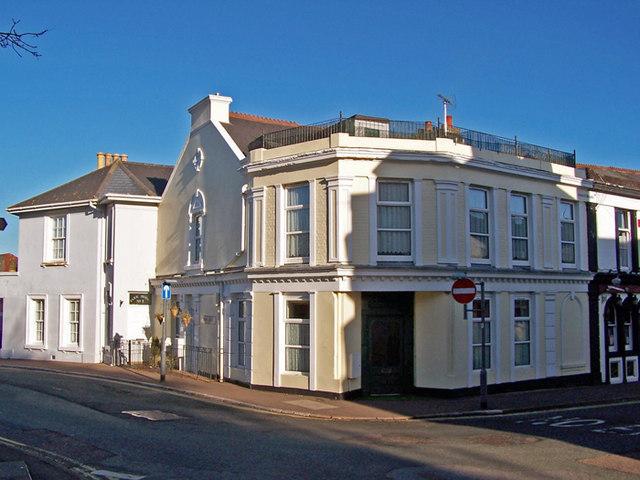 Corner house, St Marychurch