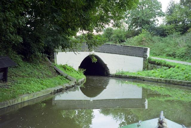 Barnton Tunnel, west end