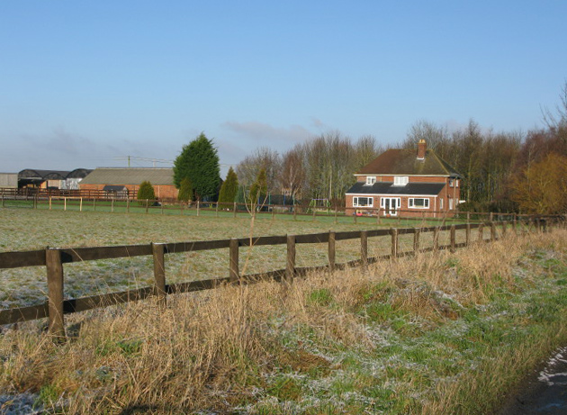 Lower Farm on the Bourton Road