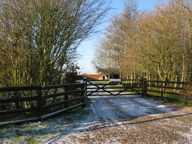 Entrance to Lower Farm House
