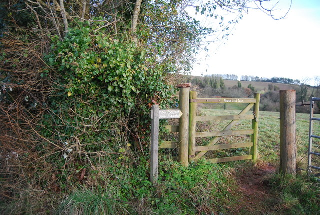 Footpath off Blindwell Lane to Lower Roadwater