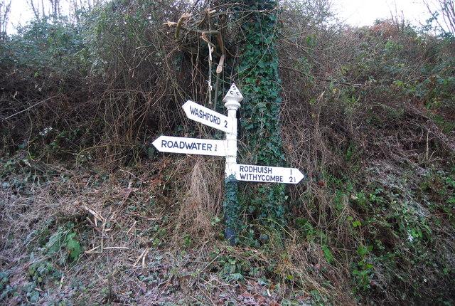 Road Sign, Golsoncott