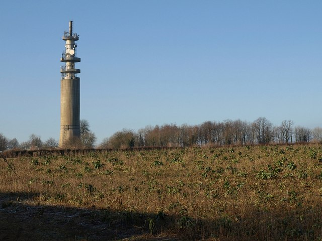 Radio station mast, Goose Green