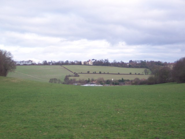 View of Perry Court Farm and School