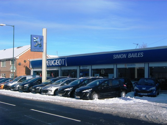 Simon Bailes Garage, Guisborough