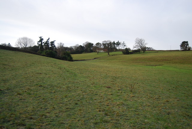 Small valley, Croydon Hall