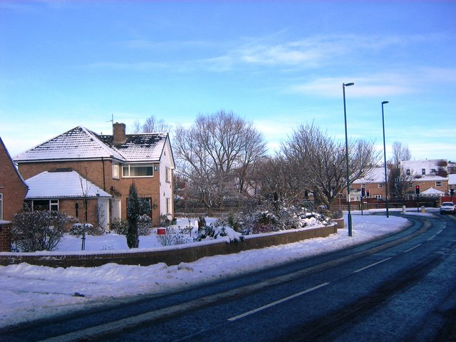 Houses in Stokesley Road, Guisborough