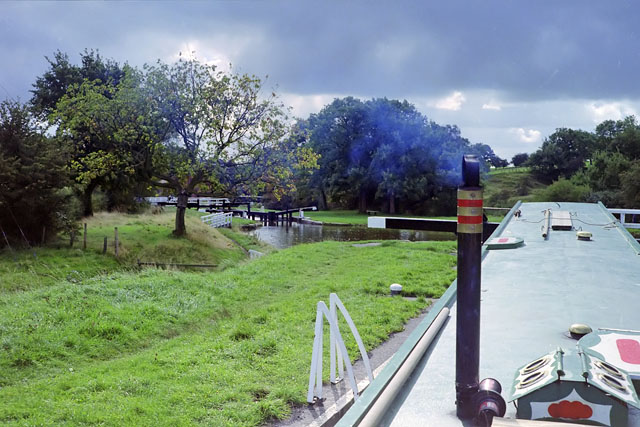 Johnson's Hillock Locks