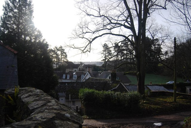 Rooftops of Croydon Hall