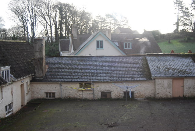 Old Courtyard, Croydon Hall