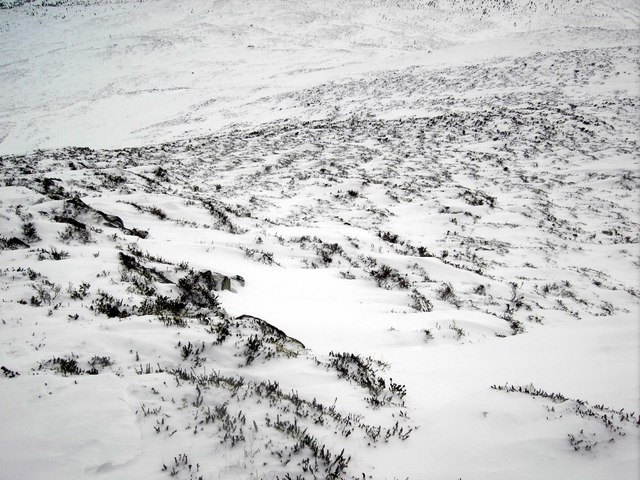 Slopes of Carn Fiaclach