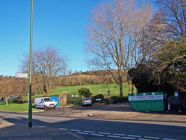 Junction of Easterfield Road, Torquay