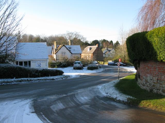 Bishopstone village hall on Hocker Bench