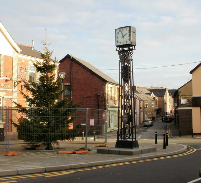The Council House Clock Tower, Old Cwmbran