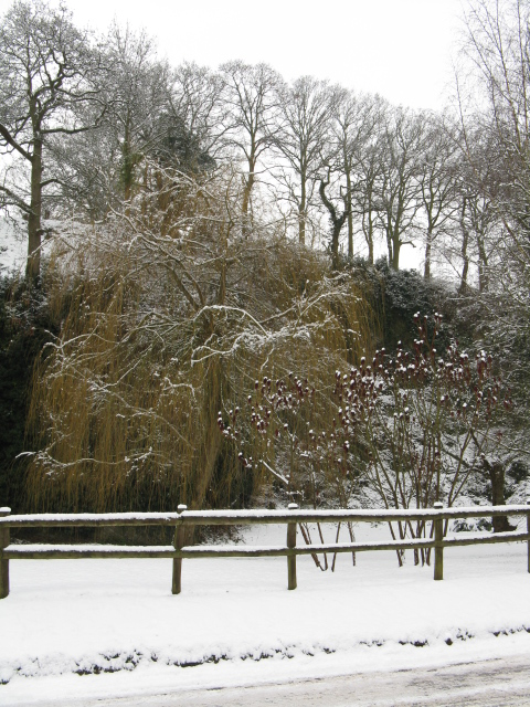 Longley Green Quarry In The Snow