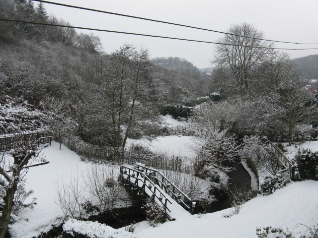 Longley Green In The Snow