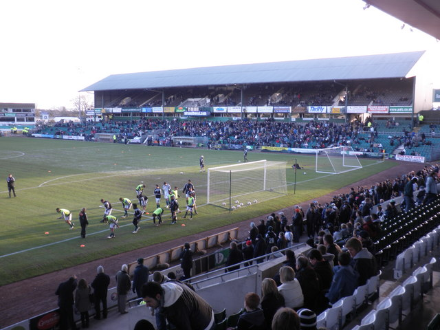 Main Grandstand, Plymouth Argyle FC
