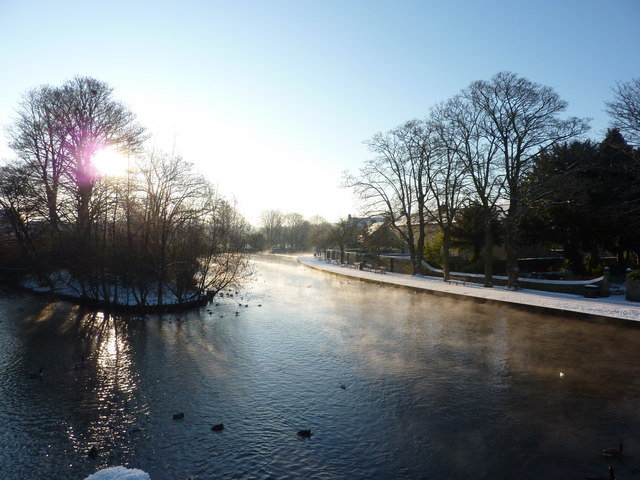 The island at Bakewell