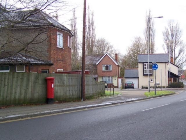 Postbox, Butts Road, Salisbury
