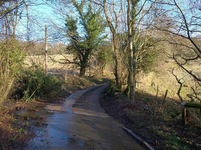 Road crossing Marlees Brook