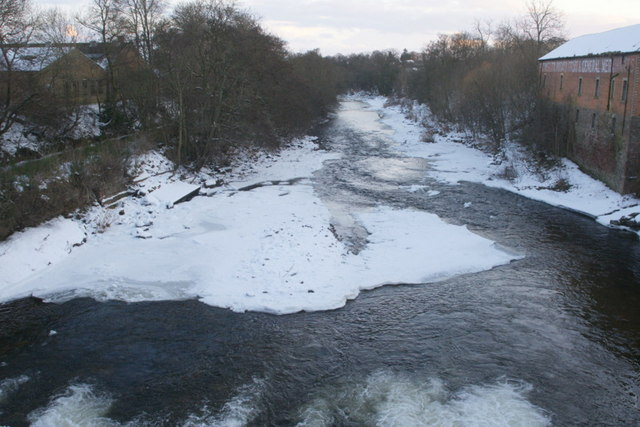 The River Ericht at Blairgowrie