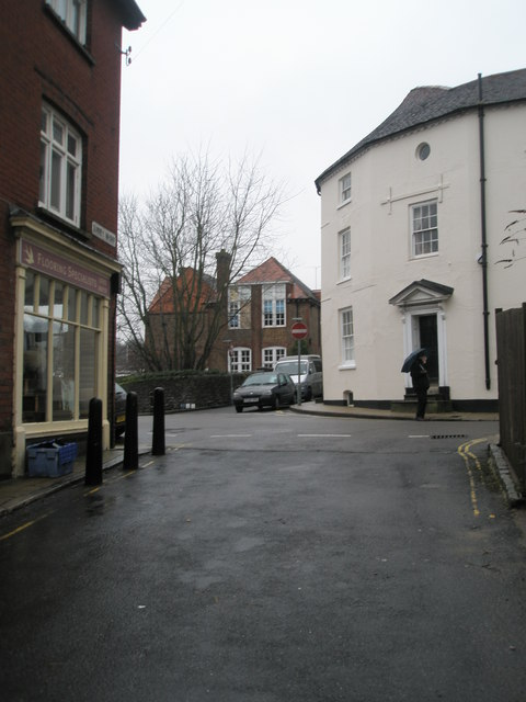 Looking from Surrey Wharf into Surrey Street