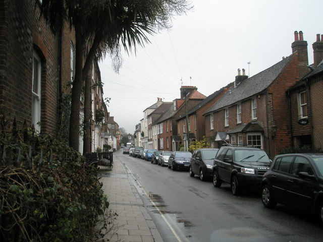 Mid section of Surrey Street