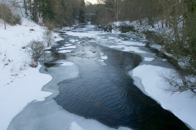 River Isla at Bridge of Craigisla