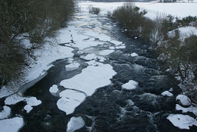 River Isla at Bridge of Craigisla