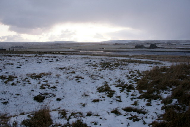 Light snow, Baltasound