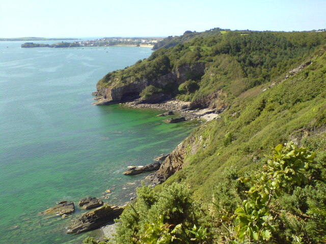 Coastline between Monkstone and Tenby