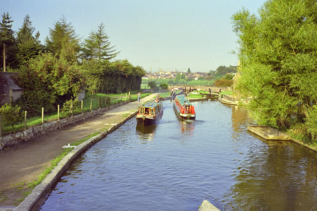 Above lock 66, Wheelock