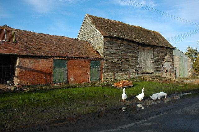 Traditional barn, Morton Underhill Farm
