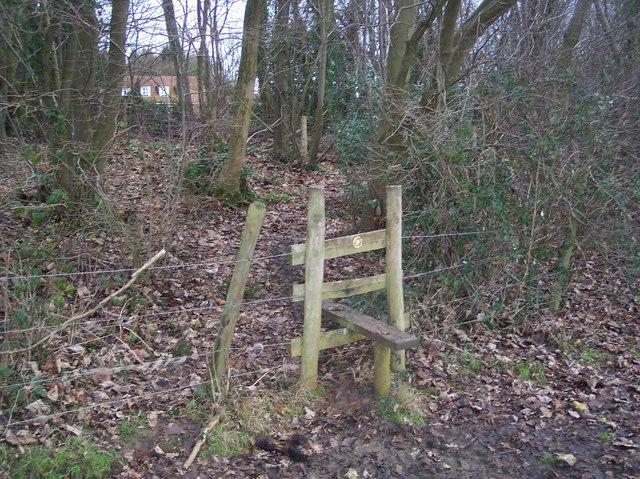 Stile near Anvil Green