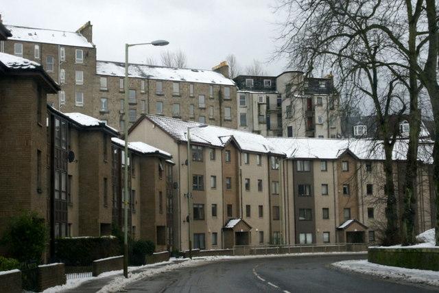Tenements, Lochee Road, Dundee