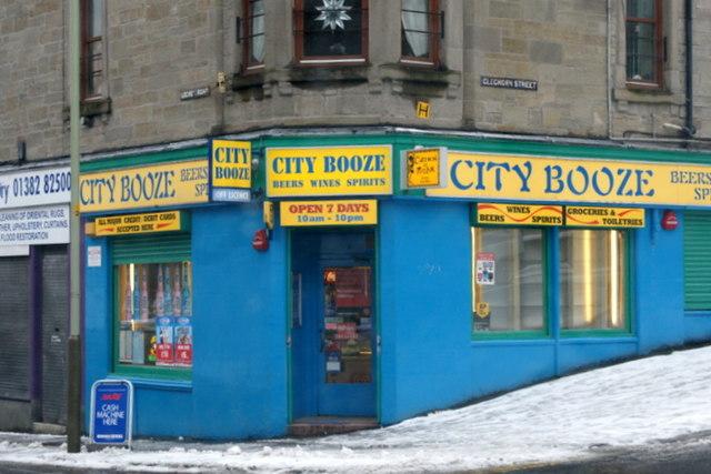 City Booze, Lochee Street, Dundee