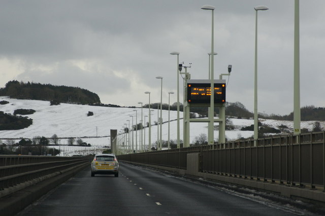 On the Tay Road Bridge