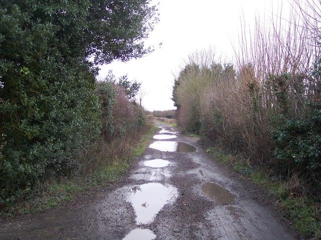 Bridleway to Penny Pot Lane