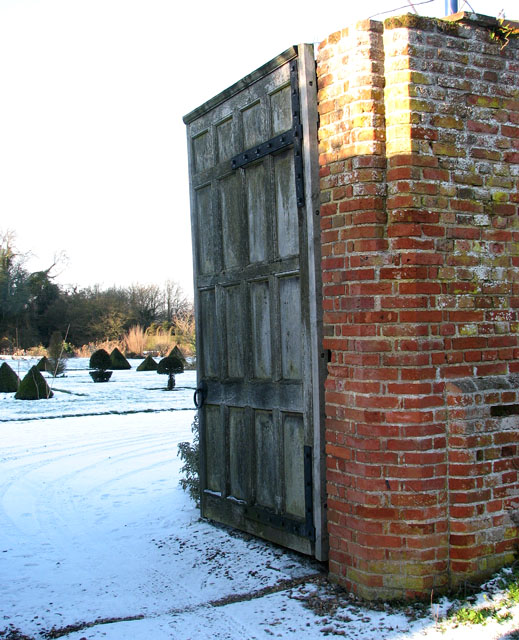 Gateway to Hales Hall and Great Barn