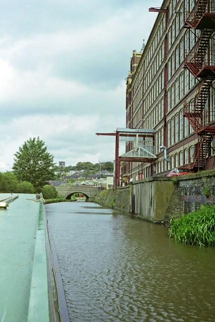 Passing Goyt Mill, Marple